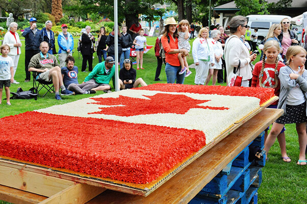 nelson bc event canada day lakeside park
