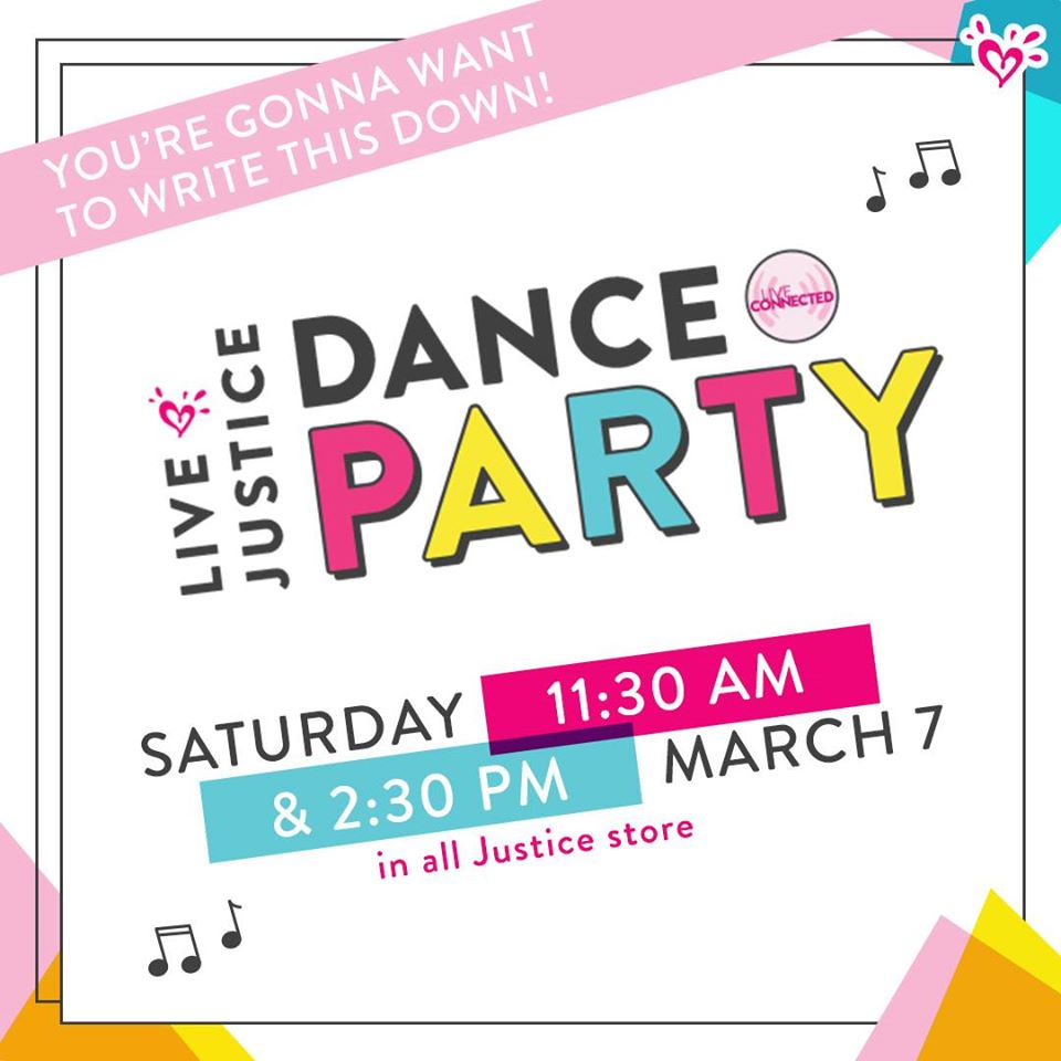 Justice dance party information