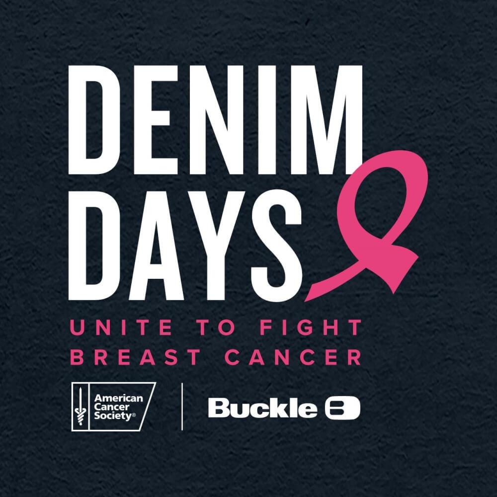 Denim Days event poster