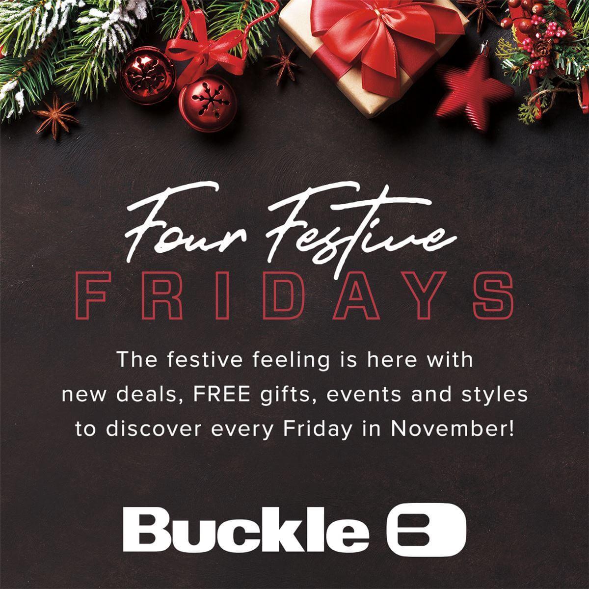 Four Festive Fridays Poster