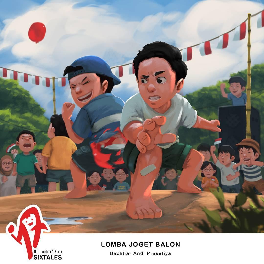 SIXTALES: BerbagiKisahLewat Ilustrasi Anak
