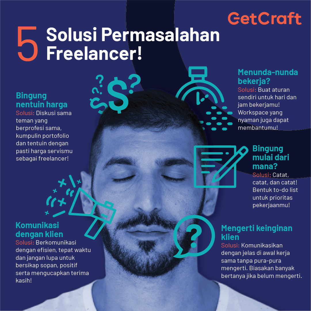 5 Masalah yang Dihadapi Freelancer dan Cara Mengatasinya!