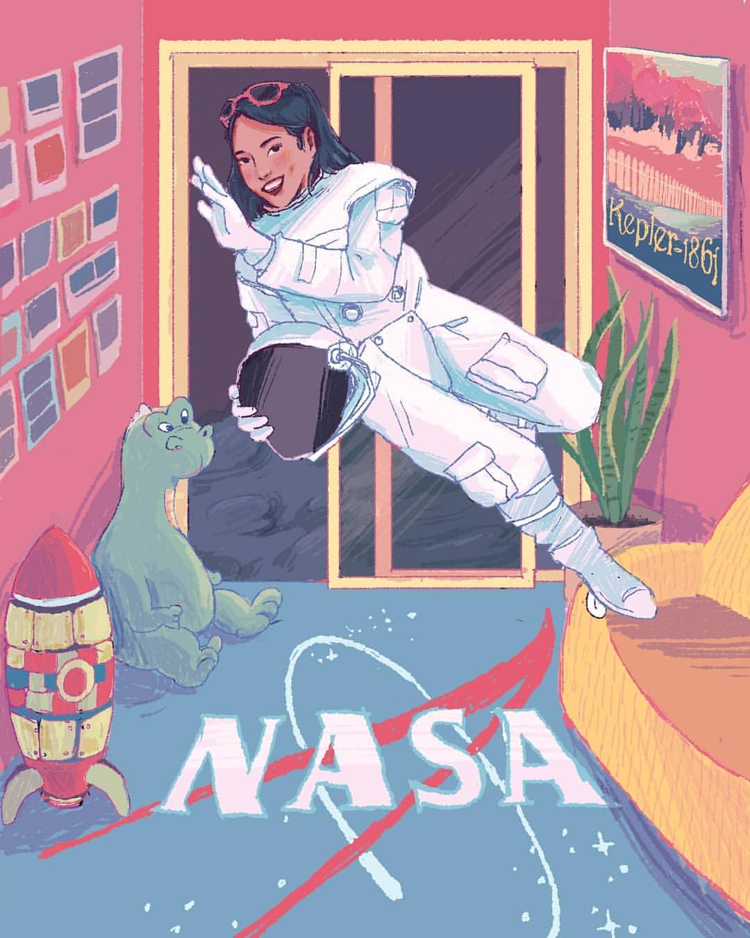 Nadiyah Rizki & Astro Ruby: Spesialisasi Desainer dan Ilustrator Selalu Mengungguli Generalisasi