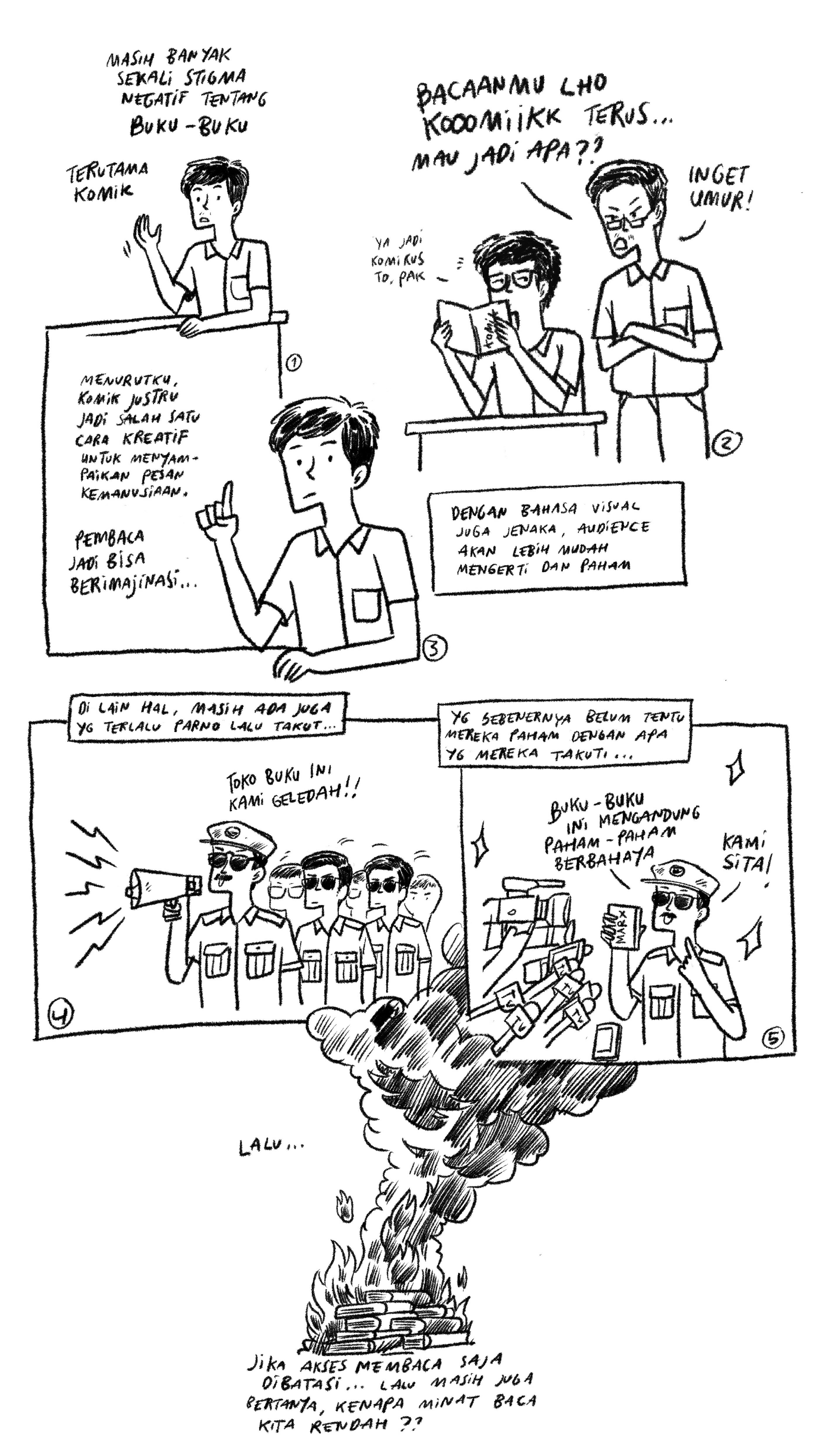 Minat Baca Indonesia di Mata Rukii Naraya