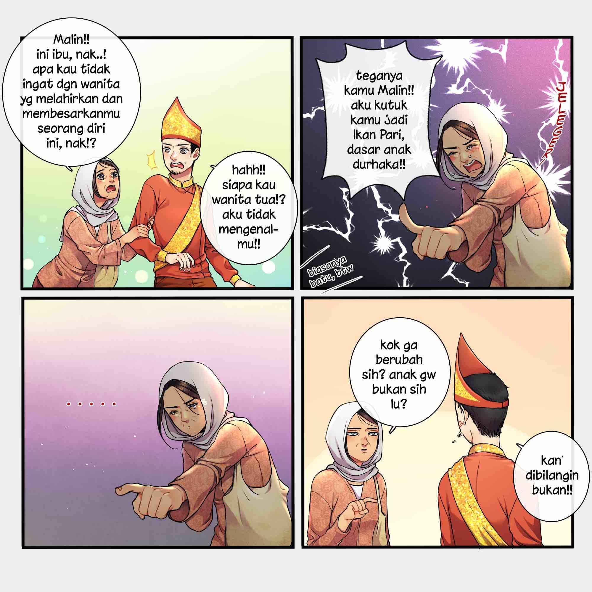 5 Langkah Merangkai Komik Strip Ala Maghfirare