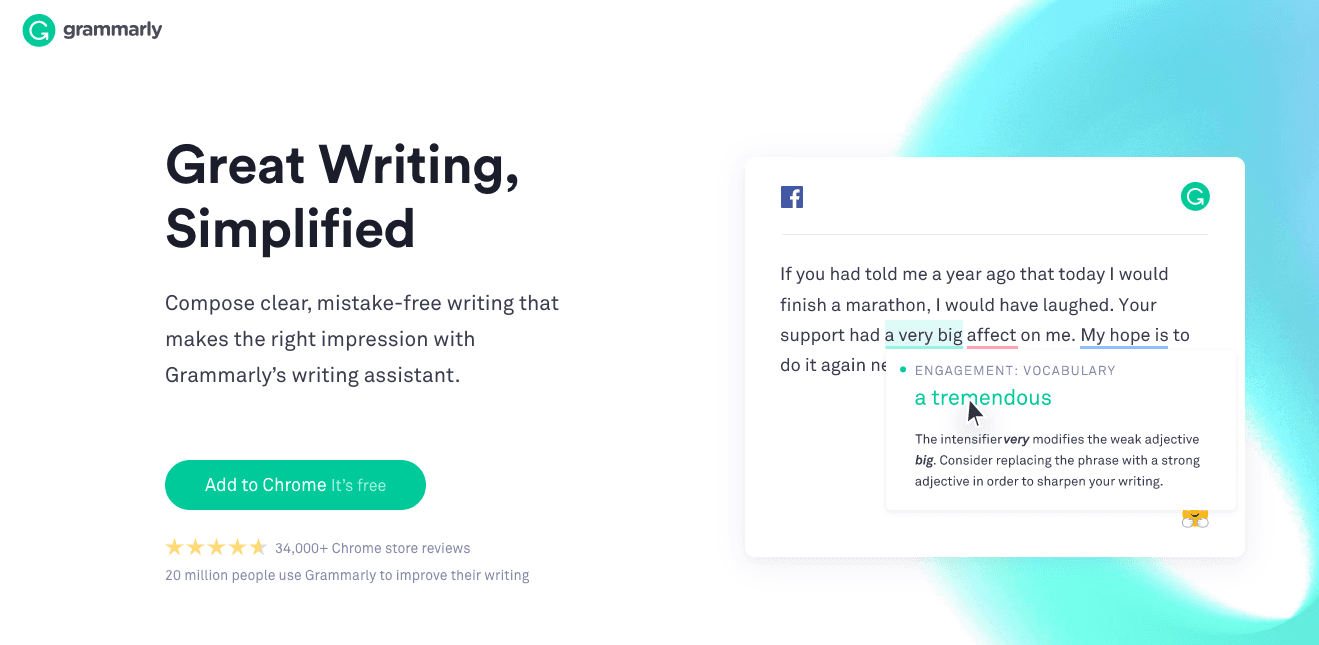 useful apps for writers grammarly