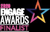 2020 engage award finalist logo