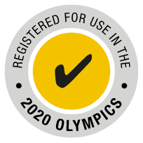 Registered for use in the 2020 Olympics