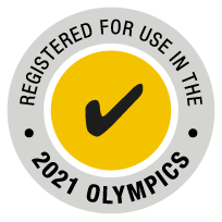 Registered for use in the 2021 Olympics