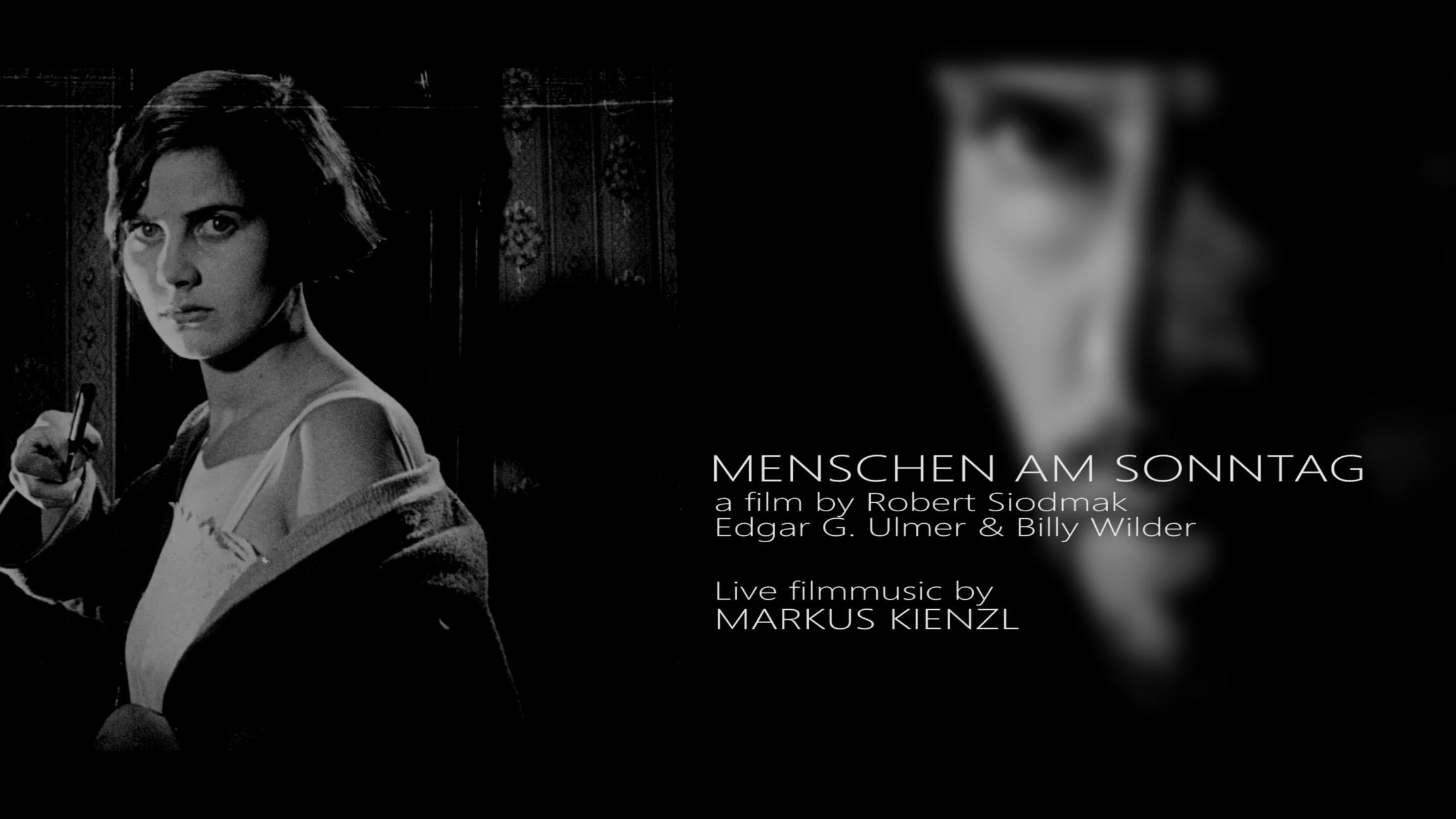 Markus Kienzl plays MENSCHEN AM SONNTAG