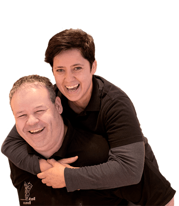Astrid Immler und Roman Lüönd, Geschäftsleitung Beck Roman
