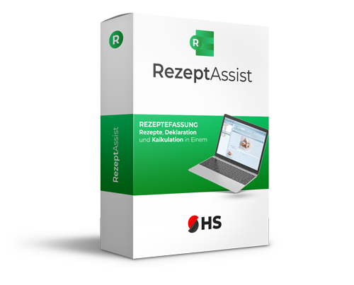 Rezepterfassung Software RezeptAssist
