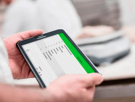 Bäckerei Rezepte App für Handy und Tablet