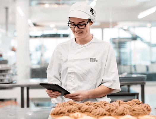 Qualitätssicherung App für Bäckerei Rezepte - weniger Fehler