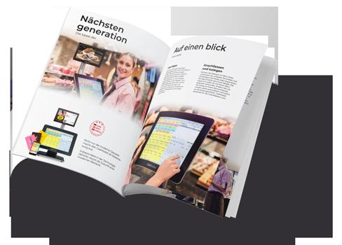 PDF Flyer mit Kassen Lösungen von HS-Soft
