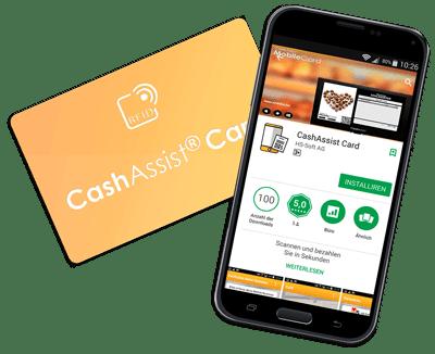 Mobile App für Bäckerei Kundenkarte