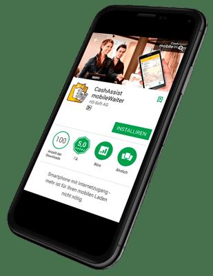 Mobile waiter App einrichten