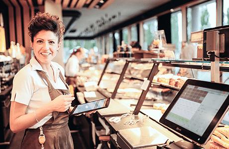Mobiles Bestellsystem für Bäckerei und Konditorei Wolf