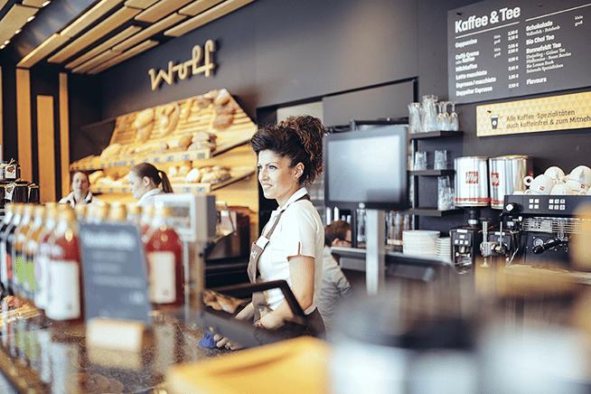CashAssist Registrierkasse in Die Bäckerei & Konditorei Wolf