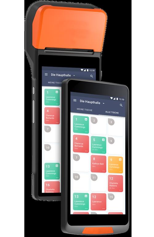Bestellterminal für Café mobile Waiter