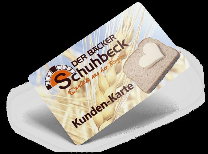 Kundenkarte Lösung — CashAssist Card in Der Bäcker Schuhbeck