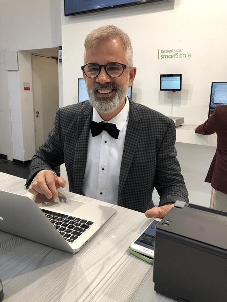 Heiner Schriever CEO HS-Soft (IBA 2018)