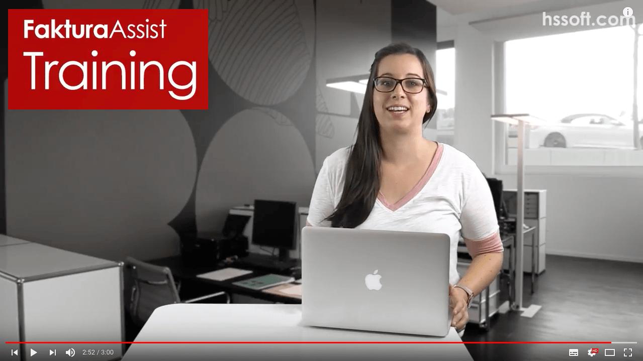 FakturaAssist Bäckereisoftware Video-Trainings online