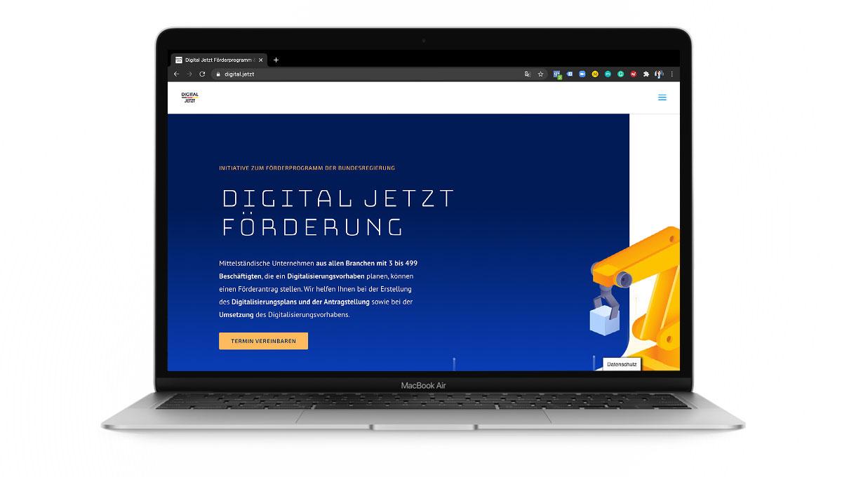 Digital Jetzt: Bäckerei-Prozesse Digitalisieren mit Zuschuss vom Bund