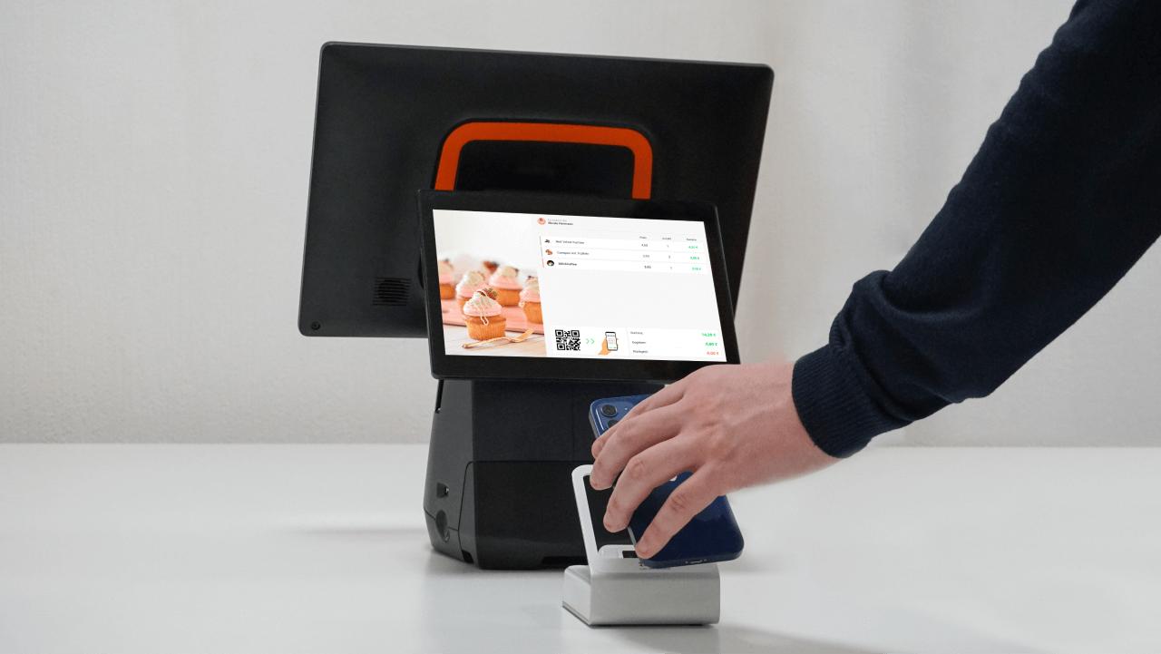Bezahlen mit einer digitalen CashAssist Kundenkarte