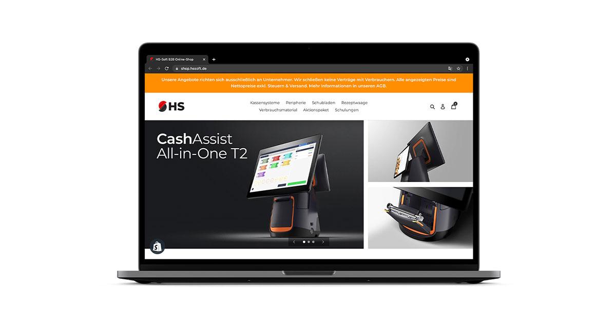 Der neue HS-Soft Online-Shop ist da!