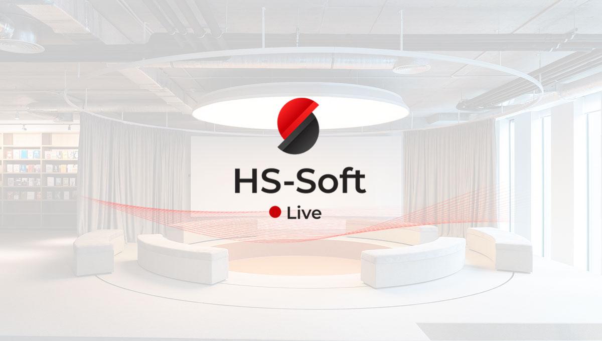 HS-Soft Live: Jetzt anmelden und am 7. Oktober um 11 Uhr Neuheiten kennenlernen
