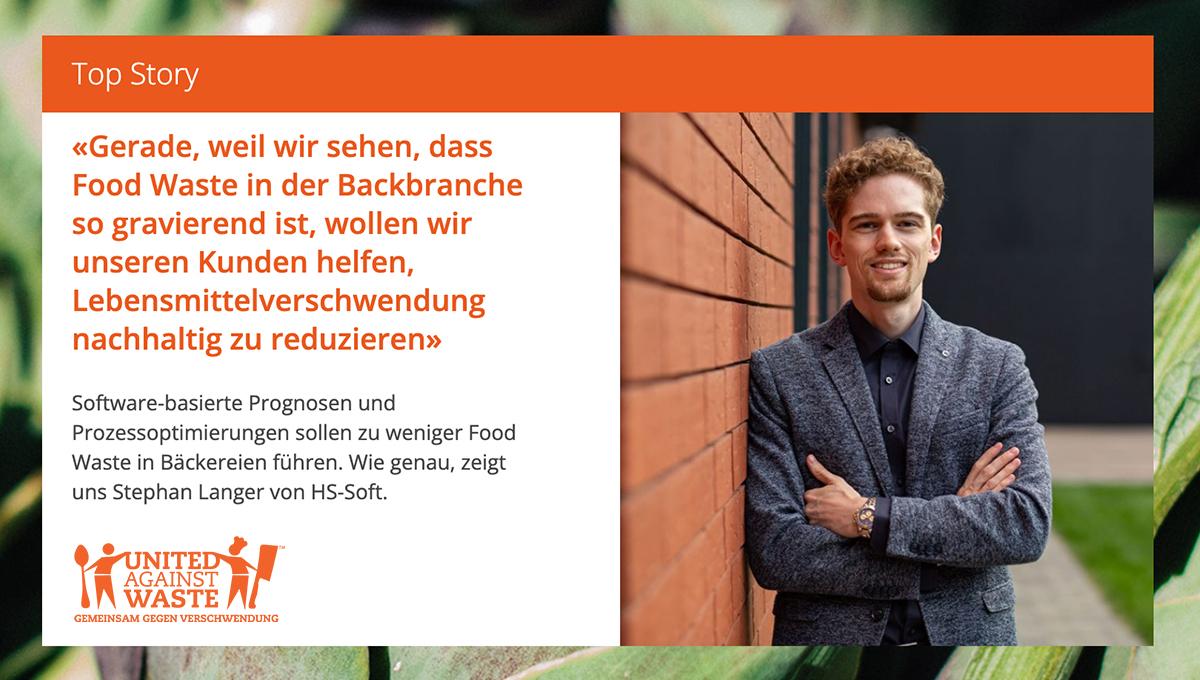 Interview zur Reduzierung von Food Waste in der Backbranche bei United Against Waste
