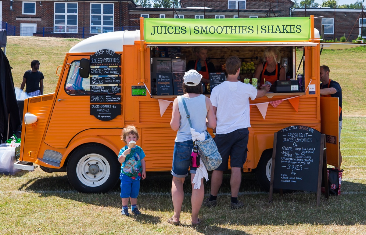 Food and Drink for Harpenden Festival