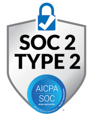 logo for SOC 2 Type 2 compliance security certification