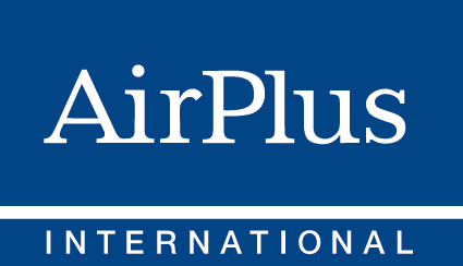 logo for Airplus in blue and white