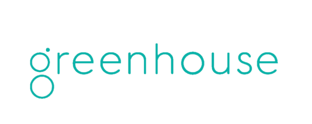 logo for Greenhouse in green