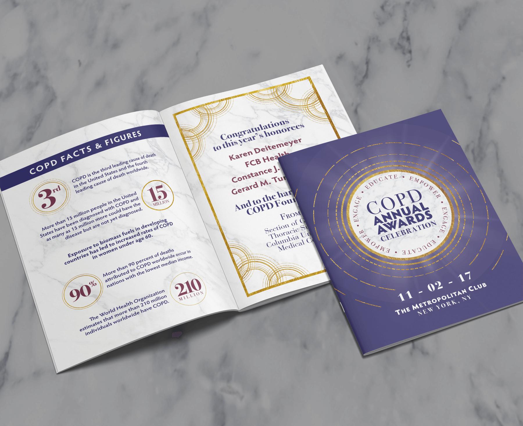 Gala Program Design