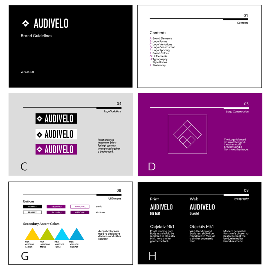 audivelo style guide 1