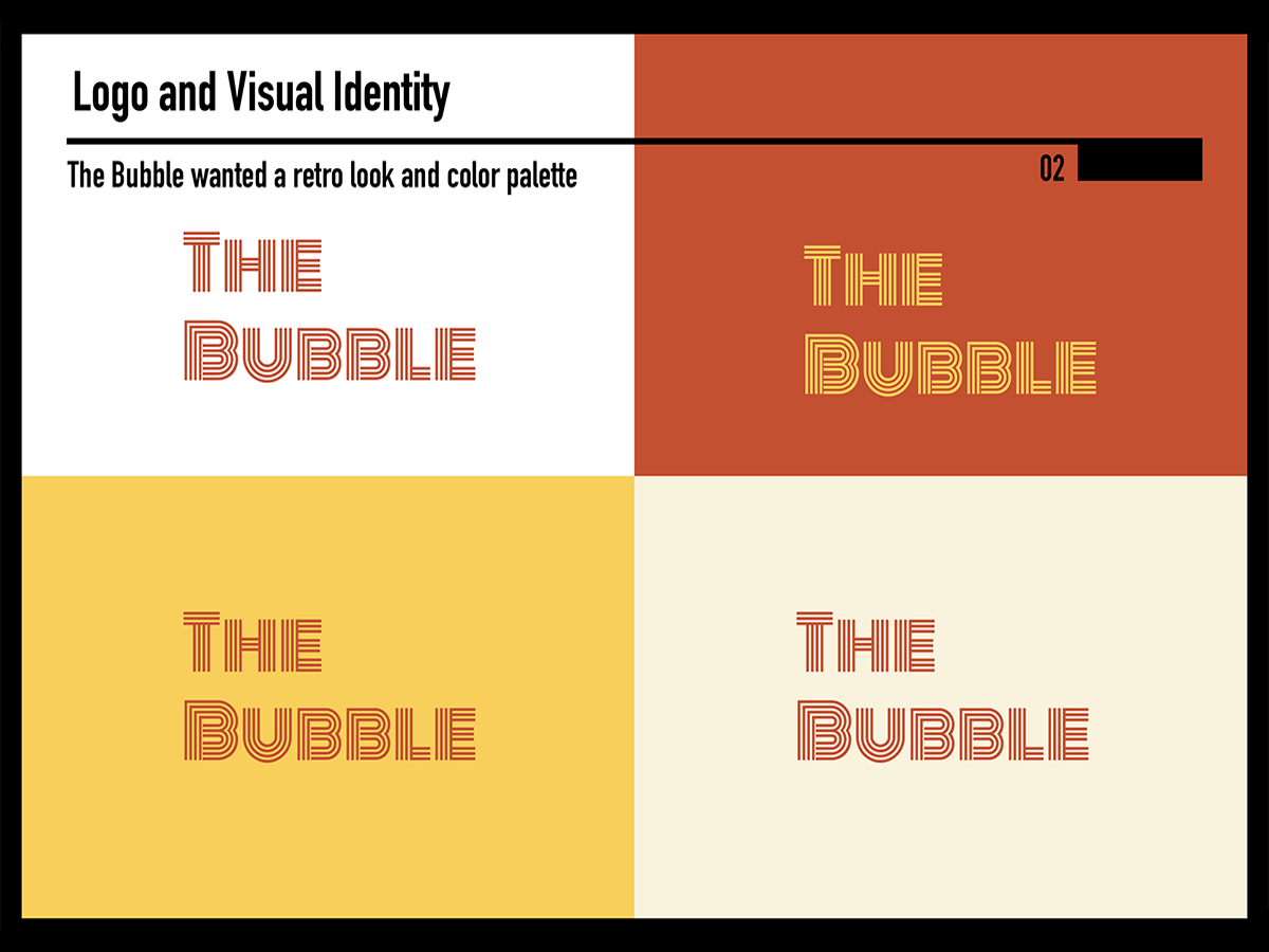 Bubble style guide