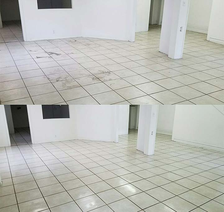 Residential tile and grout cleaning in Pasadena, CA