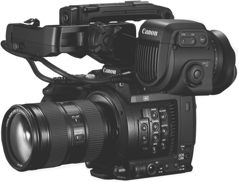 canon c200 video camera