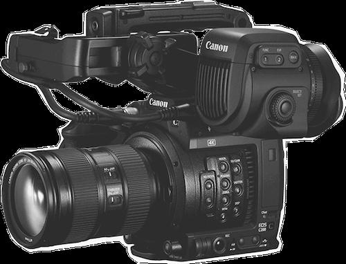 canon c200 video camera