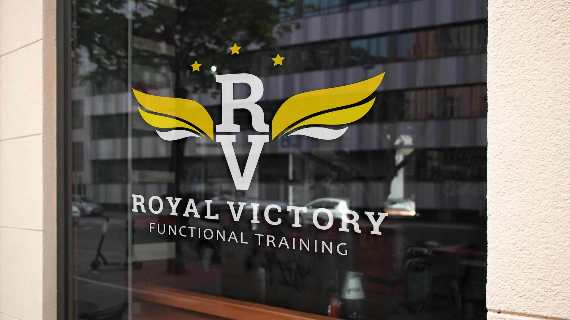 Royal Victory Logo Design