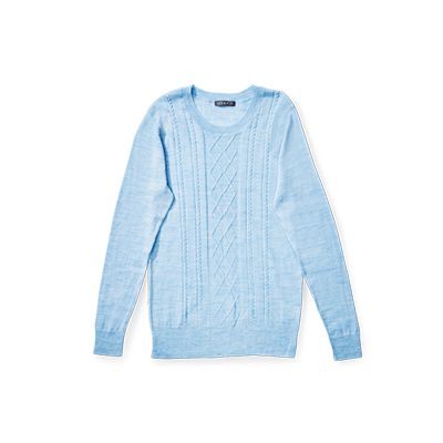 Aldi's Women's Merino Cable Knit Top