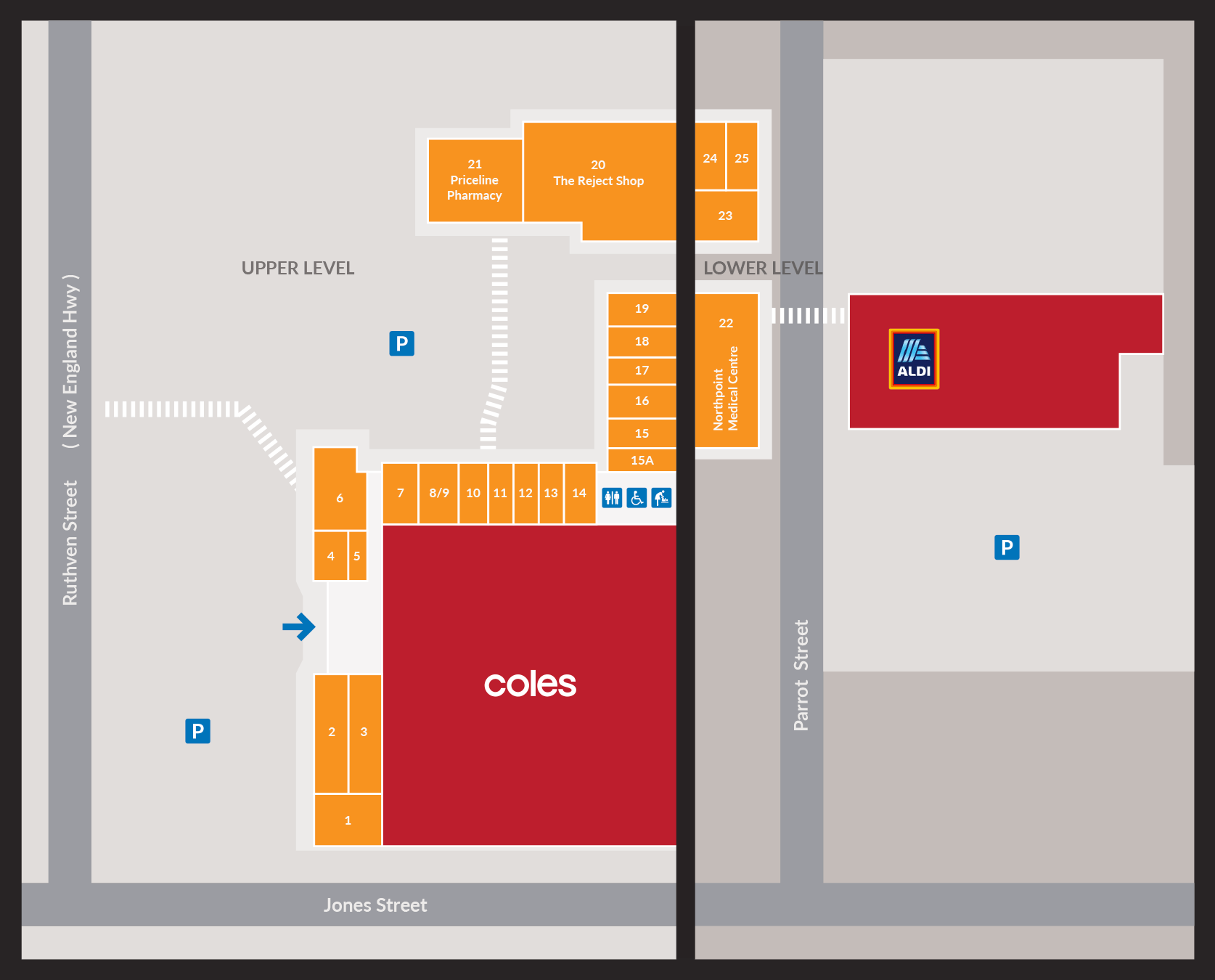 Northpoint Shopping Centre Map