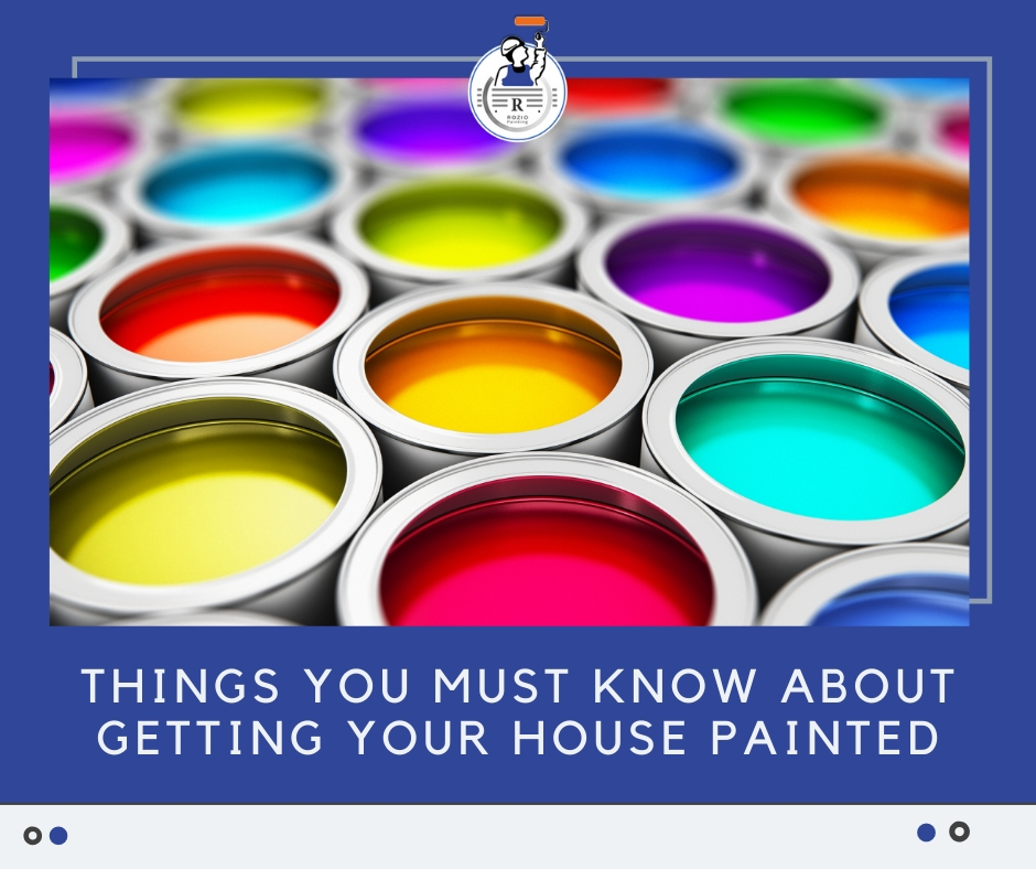Things you must know about painting your house