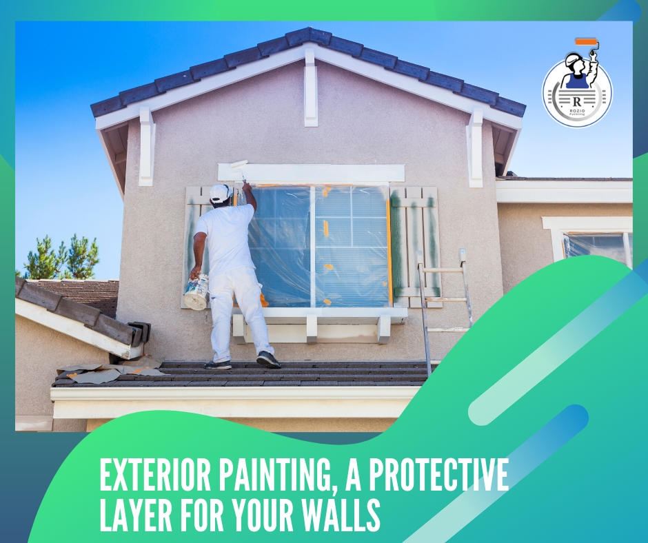 Exterior painting, a protective layer for your walls
