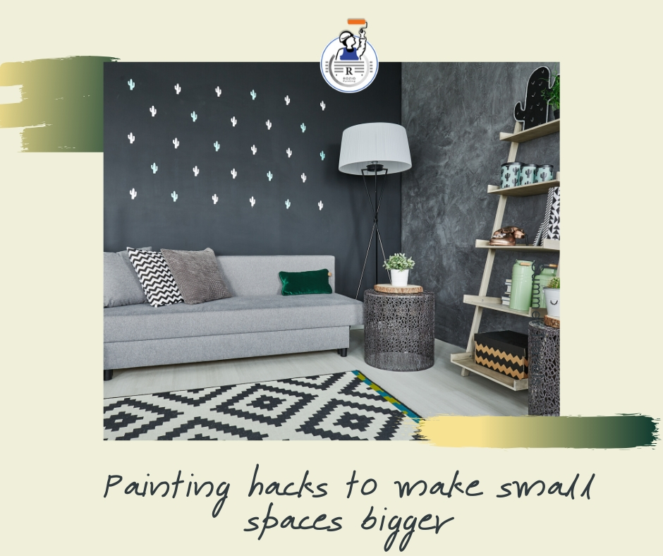 Painting hacks to make small spaces bigger | local painters in CT