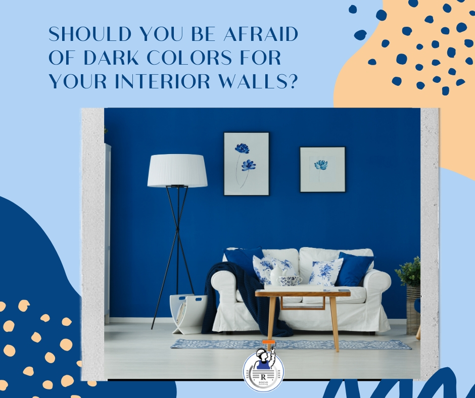 Should you be afraid of dark colors for your interior walls