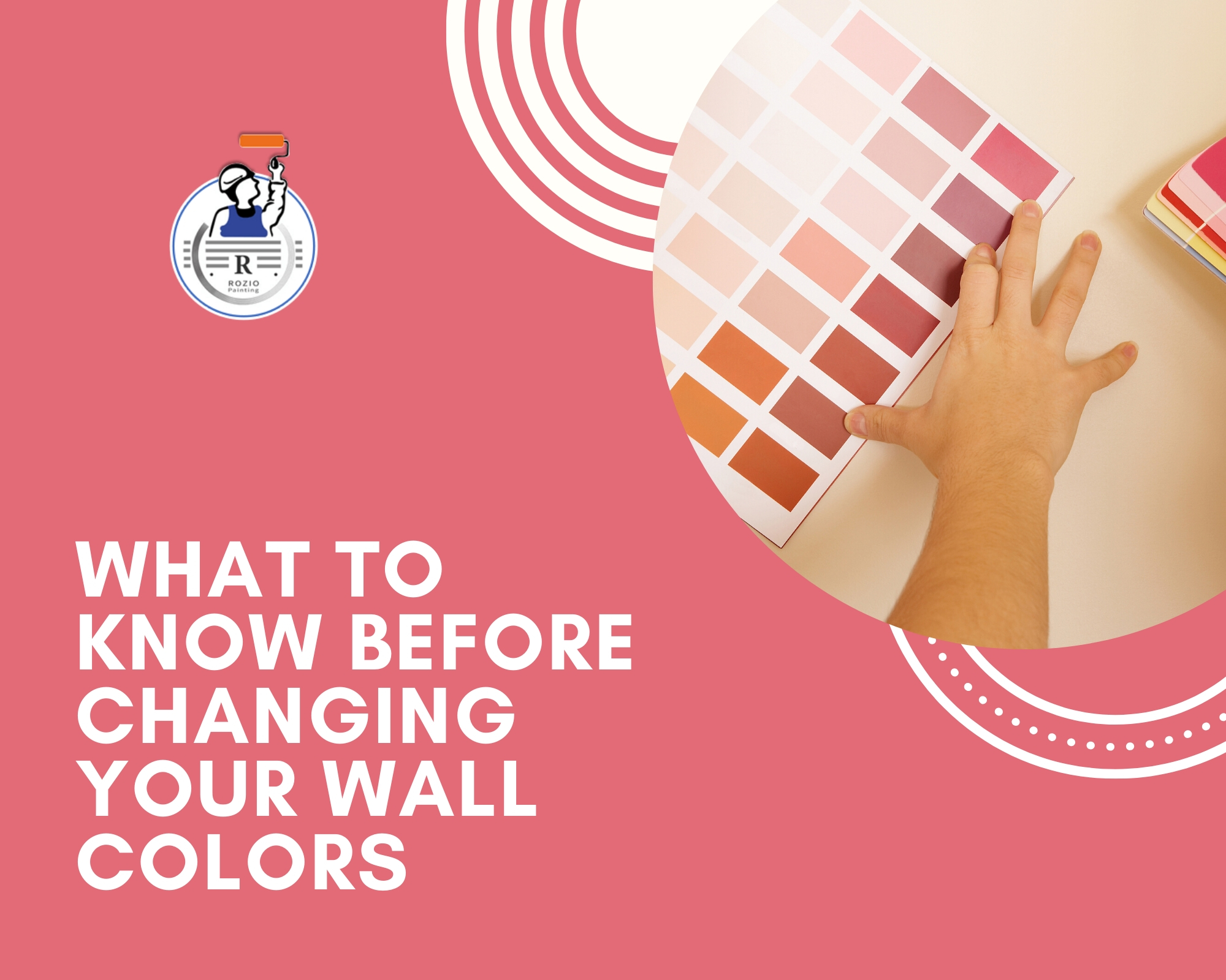 What to know before changing the colors of your wall